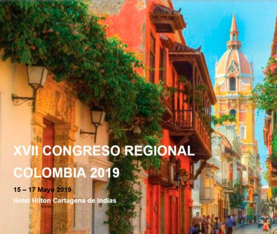 XVII CONGRESO REGIONAL COLOMBIA 2019