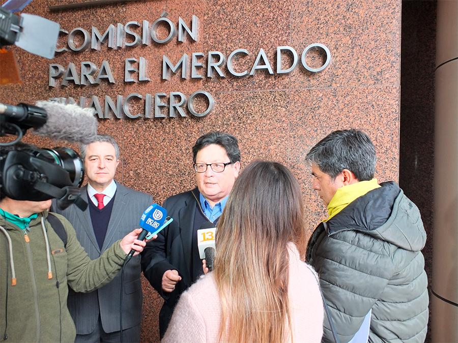 Odecu pide multa de US$400 Millones contra Zurich Santander