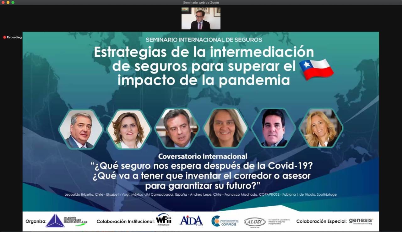 """""""Estrategias de la Intermediación de Seguros para superar el Impacto de la Pandemia"""""""